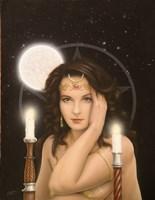 Moon Priestess Fine-Art Print