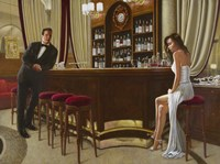 At the Bar Fine-Art Print