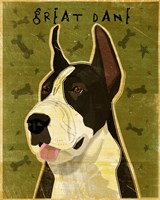 Black Great Dane 1 Fine-Art Print