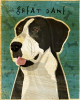 Black Great Dane 2 Fine-Art Print