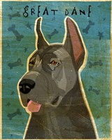 Great Dane Blue Fine-Art Print