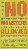 No Monsters Allowed Fine-Art Print