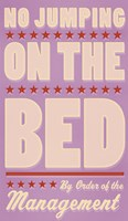 No Jumping On The Bed - Girl Fine-Art Print