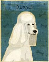 Poodle (white) Fine-Art Print