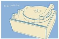 Lunastrella Record Player Fine-Art Print