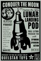 Quelstar Lunar Lander Framed Print