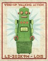 Lois Box Art Robot Fine-Art Print