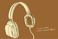 Lunastrella Headphones Fine-Art Print