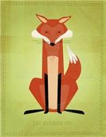 The Crooked Fox Fine-Art Print