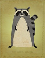 The Artful Raccoon Fine-Art Print