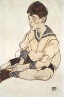 Portrait Of Paul Erdmann In A Sailor Suit Fine-Art Print
