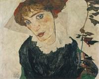 Portrait Of Wally, 1912 Fine-Art Print