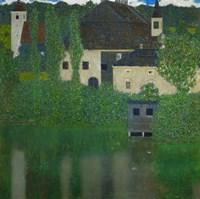 Unterach Manor On The Attersee Lake In Austria,  1915-1916 Fine-Art Print
