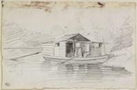 The Houseboat Fine-Art Print