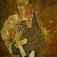 Death And Mann, 1911 Fine-Art Print