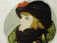 Portrait Of Ida Roessler, 1912 Fine-Art Print