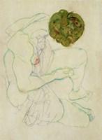 Seated Female Nude, 1914 Fine-Art Print