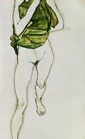 Striding Torso In Green Shirt, 1913 Fine-Art Print