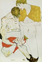 Lovers, 1913 Fine-Art Print