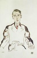 Portrait of Dr. Heinrich Rieger, 1917 Fine-Art Print