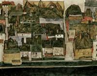 The Small City IV  (Krumau On The Moldau), 1914 Fine-Art Print