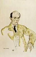 Composer Arnold Schoenberg, 1917 Fine-Art Print