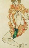 The Green Stocking, 1914 Fine-Art Print