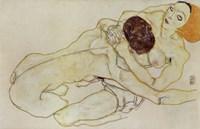 Two Girls (Lovers), 1914 Fine-Art Print