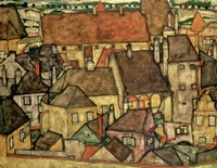 Yellow City, 1914 Fine-Art Print