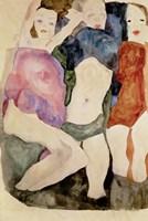 Three Girls, 1911 Fine-Art Print