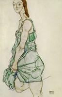 Standing Woman In Green Shirt, 1914 Fine-Art Print