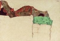 Reclining Male Nude With Green Cloth, 1910 Fine-Art Print