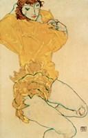 Woman Undressing, 1914 Fine-Art Print