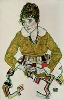 Portrait Of The Artist's Wife, 1917 Fine-Art Print