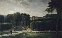 The Park At Saint-Cloud, 1865 Fine-Art Print