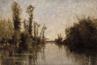Banks Of The Seine, 1851 Fine-Art Print
