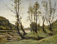 The Aumance Valley, 1875 Fine-Art Print