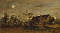 Evening At Honfleur Fine-Art Print