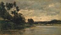 The Riverbank Fine-Art Print