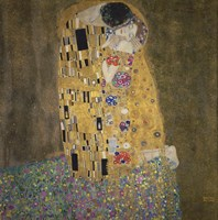 The Kiss,  1907-1908 Fine-Art Print