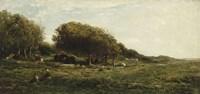 Graves Of Villerville Fine-Art Print