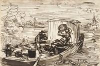 Luncheon on the boat (Dejeuner en bateau) Fine-Art Print