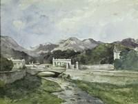 View of Menton Fine-Art Print