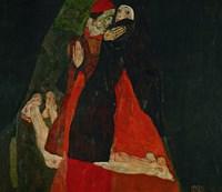 Cardinal And Nun (Liebkosung), 1912 Fine-Art Print