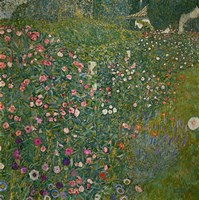 Italian Garden Landscape, 1917 Fine-Art Print