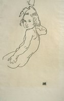 Nude Child, 1917 Fine-Art Print