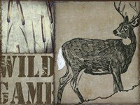 Deer with white tail Fine-Art Print