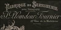 Signes Francais VII Fine-Art Print