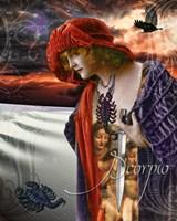 Art Nouveau Zodiac Scorpio Fine-Art Print