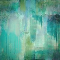 Aqua Circumstance Fine-Art Print